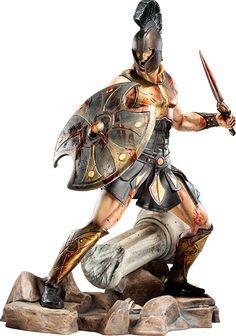 Achilles Battle Fury Statue By ARH Studios