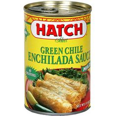 Hatch Green Chile Enchilada Sauce, 15 oz (Pack of 12) ~ If you have ever lived in New Mexico, you surely know that Hatch offers the best in green chiles. I was surprised to find I could order some of them directly from Walmart.com