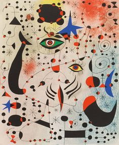 Joan Miró, Ciphers and Constellations in Love with a Woman, 1941