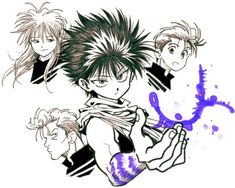 Home from work, tired af, messed the fuck up Inktober I saw Swift and thought Hiei from YYH but I just died. Yu Yu Hakusho Anime, Manga Anime, Anime Art, Spirit World, Art Poses, Fujoshi, Game Character, Anime Characters, Art Cut
