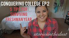 CONQUERING COLLEGE EP 2: Surviving Freshman Year #school #college #freshmanyear #sorority #university