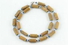 Women Hazel Necklace - light blue/hematite - Healing Hazel Ankle Bracelets, Light Blue, Necklaces, Jewelry, Women, Fashion, Moda, Jewlery, Schmuck