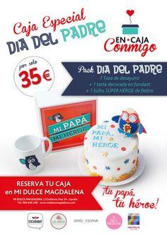 Pack espcial  #díadelpadre para demostrale lo mucho que le quieres con este original y divertido desayuno 100% handmade