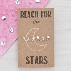 Reach For The Stars Sterling Silver Studs