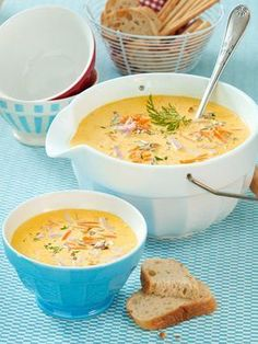 Our popular recipe for coconut carrot soup with ham and more than other free recipes on LECKER. Our popular recipe for coconut carrot soup with ham and more than other free recipes on LECKER. Coconut Recipes, Soup Recipes, Vegetarian Recipes, Healthy Recipes, Gourmet Recipes, Vegetable Soup Healthy, Snacks Sains, Paleo Soup, Ham Soup