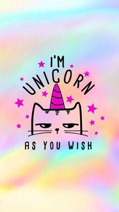 im a kitten not a unicorn