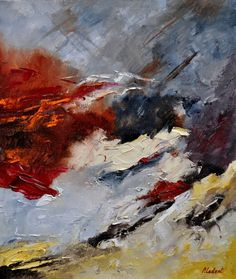 abstract 673101 - Pol Ledent's paintings