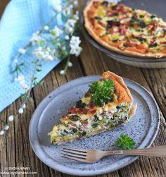 Inspiration til nem og hurtig, sund og lækker aftensmad, som mætter godt og er spækket af sunde sager. Vi elsker grøntsagstærter!