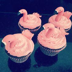 Cupcakes de flamingos❤❤.