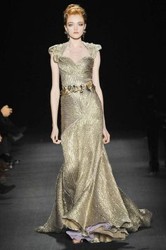 Vlada Roslyakova Photos Fall 2009 Ready-to-Wear Zac Posen - Runway  on Style.com