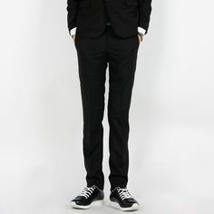 Today's Hot Pick :Slim Fit Dress Pants http://fashionstylep.com/P0000HUA/polyma/out Slim fit dress pants. Medium rise and slim-fitting, these basic dress pants sport the classic hook and eye and zipper closure along with a button fastening. The slim fit and the discreet pockets make these pants easy to pair with anything from your favorite button downs to a blazer and waistcoat.