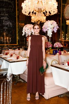 Inside Olivia Palermo's Magical Dinner Party in Paris via @WhoWhatWearUK