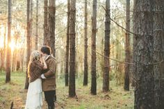 pine forest weddings
