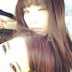 SNSD Taeyeon Sunny may 2014 IG