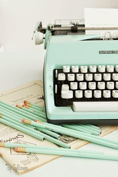 always wanted a typewriter