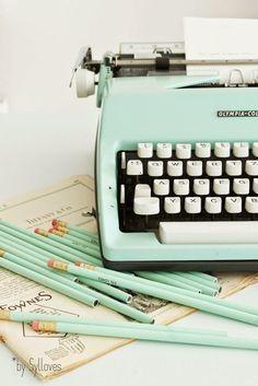 always wanted a typewriter