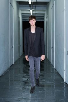BLK DNM   Spring 2014 Menswear Collection   Style.com