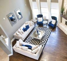 Cozy Living Room Ideas On A Budget 35 - Home Office Decoration Living Room On A Budget, Living Room Remodel, Cozy Living Rooms, Formal Living Rooms, Home Living Room, Living Room Designs, Modern Living, Tiny Living, Furniture For Living Room