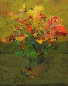 Mark English - Contemporary Artist - Flowers