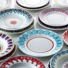 Richard Ginori Folkware 18 Piece Set