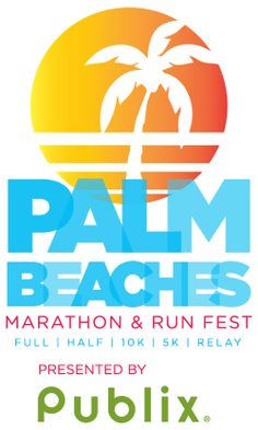 RunnersWeb Athletics: Waterfront kicks off Palm Beaches Marathon and Run Fest Weekend Palm Beach Florida, West Palm Beach, Half Marathon Training, Marathon Running, Marathon Logo, Beach Meals, Event Calendar, Triathlon, Design Logos