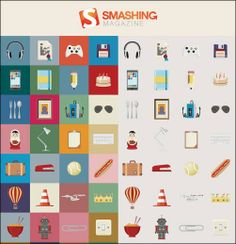 One of many top quality icon sets that Smashing Magazine gives its readers and anyone who happens by