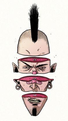 Slice by Lucas Wakamatsu Bauru, Brazil | Digital Art, Drawing, Illustration