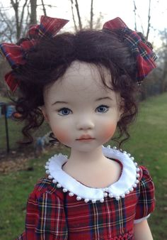Little Darling # 2, made from a mold by Dianna Effner