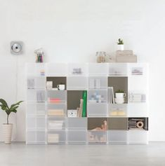 Muji storage units for new home