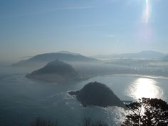 From Higueldo´s Mountain. Donostia. España