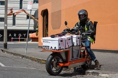 EsCargo: A Cargo Motorcycle | ID Projects