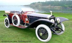 1914 Rolls-Royce Silver Ghost Labourdette Skiff-Torpedo
