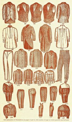 The 1890's were a time of class and elegance to which the conventional menswear consisted of a three piece suit consisting of a waist coat, trousers, and a jacket ranging in formality to fit different occasions