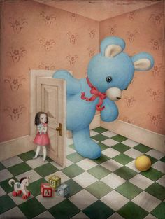 Nicoletta Ceccoli, Honey, I'm Home