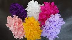 paper flowers hyacinth (Flower # 26) - YouTube