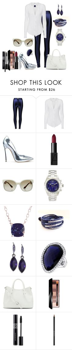 """""""Untitled #365"""" by fasttrack2fashion ❤ liked on Polyvore featuring Glamorous, James Perse, Posh Girl, NARS Cosmetics, Prada, Invicta, Blue Nile, Givenchy, T Tahari and Vince Camuto"""