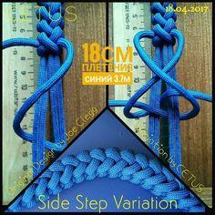Side Step variation. #cetus550#cetus_weaving#paracord#tutorial