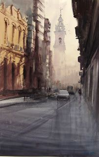 Manolo Jiménez #watercolor jd