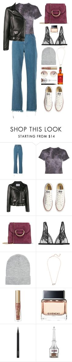 """""""Making new friends"""" by emmeleialouca on Polyvore featuring Chloé, Alice + Olivia, Acne Studios, Converse, Little Liffner, La Perla, River Island, Kendra Scott, Too Faced Cosmetics and Givenchy"""