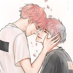 ChanBaek Chanbaek Fanart, Baekyeol, Kpop Fanart, K Pop, Chibi, Exo Fan Art, Cute Gay Couples, Fanarts Anime, Nerd
