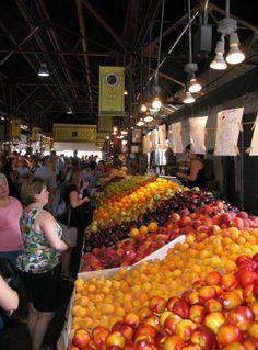 A & H Produce at Soulard Market.