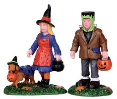 Trick Or Treating Trio, Set Of 2
