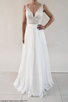 11b3fb3636 Wedding Skirt Chiffon Skirt Detachable Wedding Skirt White   Etsy Handmade  Wedding Dresses, Chic Wedding
