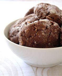 Chocolate coconut hedgie cookies