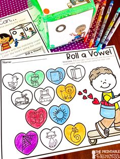 FREEBIE fit for February! This newly updated freebie is perfect for Kindergarten in February. It includes a math center and a literacy center. Your Kindergarteners will practice addition to 10 and short vowel CVC words. Super simple to prep. Engaging and fun for students.