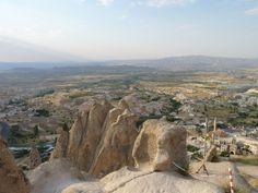 Vistas desde el Castillo de Üçhisar.
