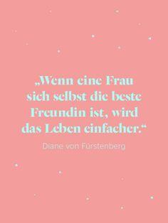 Diane von Fürstenberg weiß, wovon sie spricht!