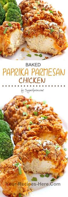 Baked Paprika Parmesan Chicken is one of those everyone-should-know-how-to-make recipes. It's easy and comes together quickly. In fact, it's… Ingredients Meat 4 Chicken breasts, skinless boneless Produce 1/2 tsp Garlic powder Refrigerated 2 Eggs Baking & Spices 1/4 cup All-purpose flour 2 tsp Paprika 1/2 tsp Pepper 1/2 tsp Salt Dairy 1/4 cup Butter 1/2 cup Parmesan cheese Follow us for more Recipes in our website : http://www.your-recipes-here.com/
