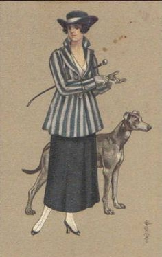 1910s Fashion Postcard