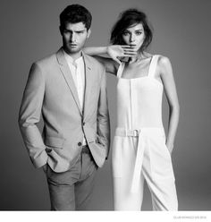 CLUB MONACO GOES CLASSIC WITH BLACK & WHITE SPRING 2015 CAMPAIGN